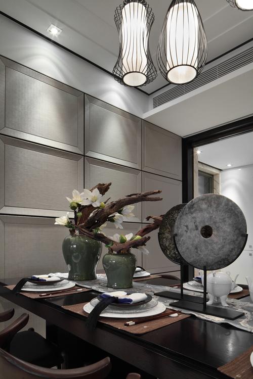 三居室新中式风格设计