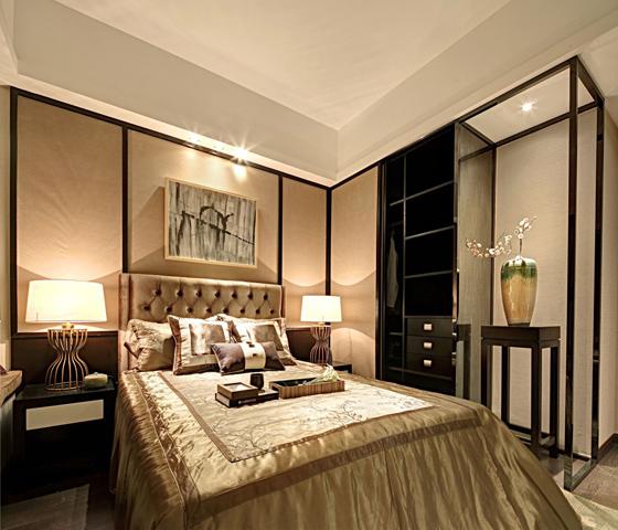 三居室新中式装修案例