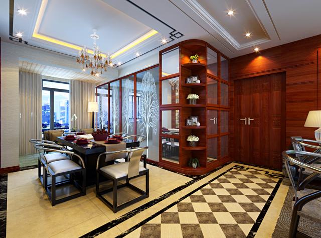 101平新中式三居室设计