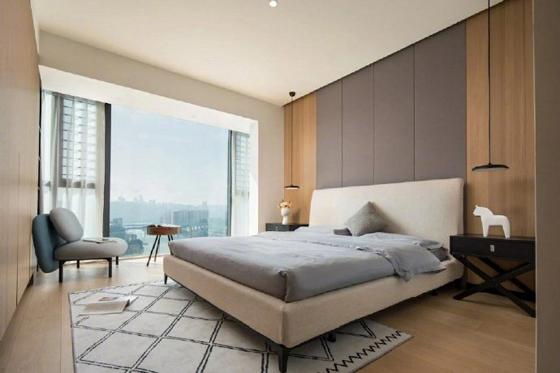 简约现代风四居室,窗明几净的舒适空间165㎡